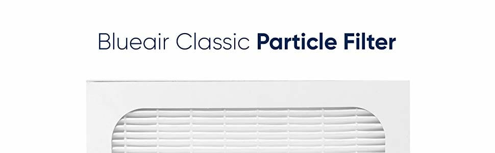 Blueair classic 400 particle Filter
