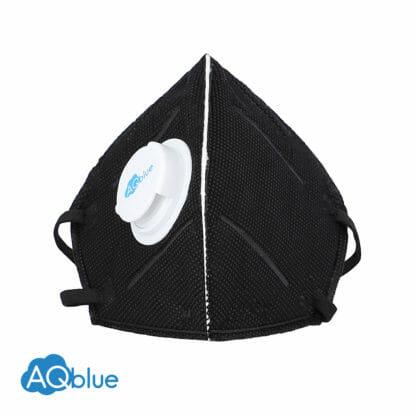 AQblue Black Medium front