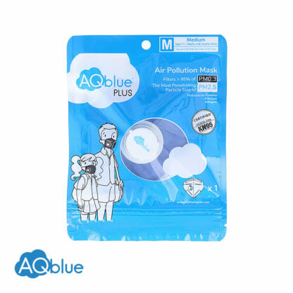 AQblue Light Blue Medium package Front