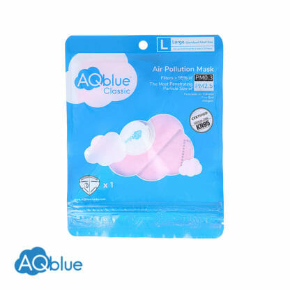 AQblue Light Pink Large package Front