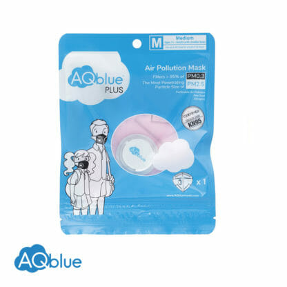 AQblue Light Pink Medium package Front