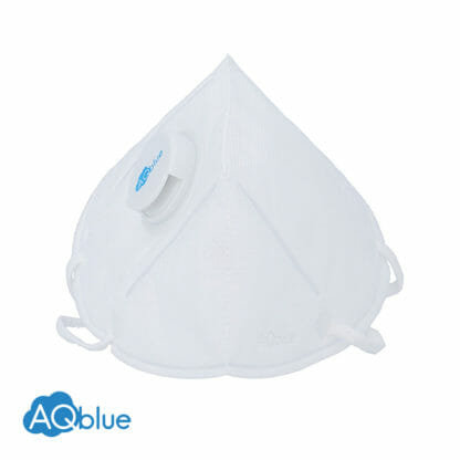 AQblue White Large Front