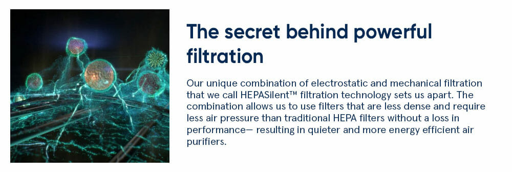 The secret behind powerful filtration