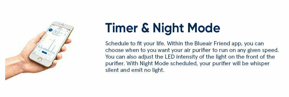 Blueair Timer Night Mode