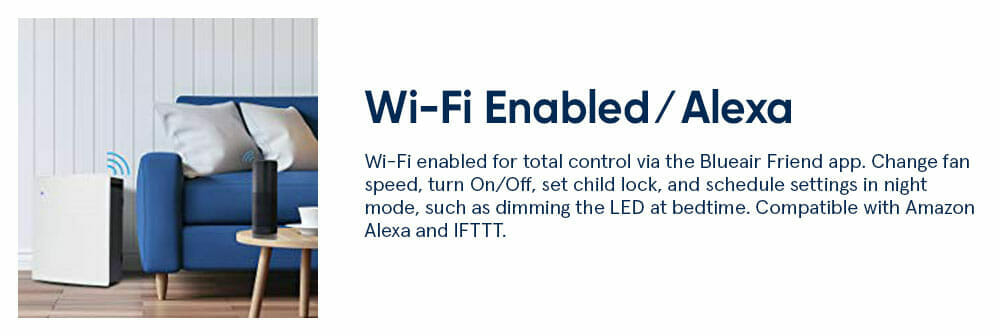 Blueair Wi-Fi Enabled Alexa