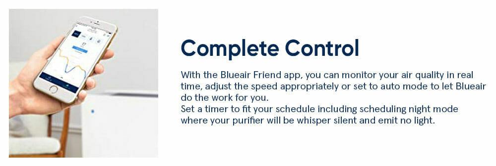 Blueair 405 Complete control