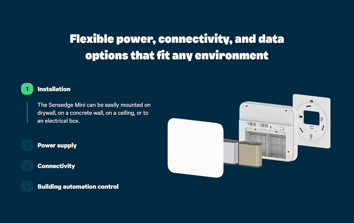 Flexible power, connectivity, and data options that fit any environment