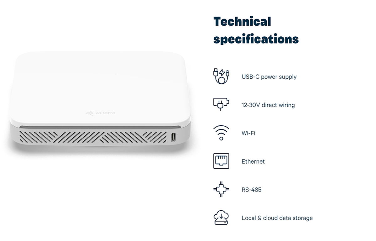 Sensedge mini Technical specifications