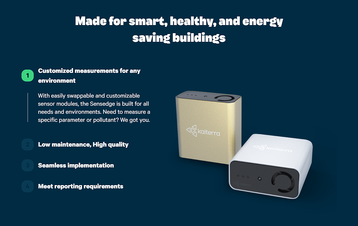 Sensedge is made for smart, healthy, and energy saving buildings