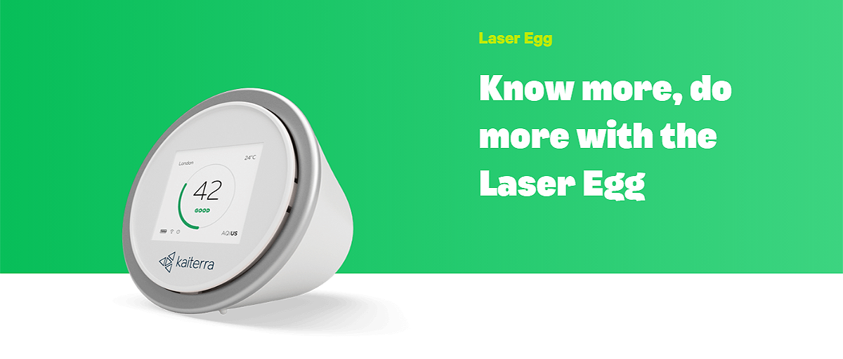 Know more, do more with the Laser Egg