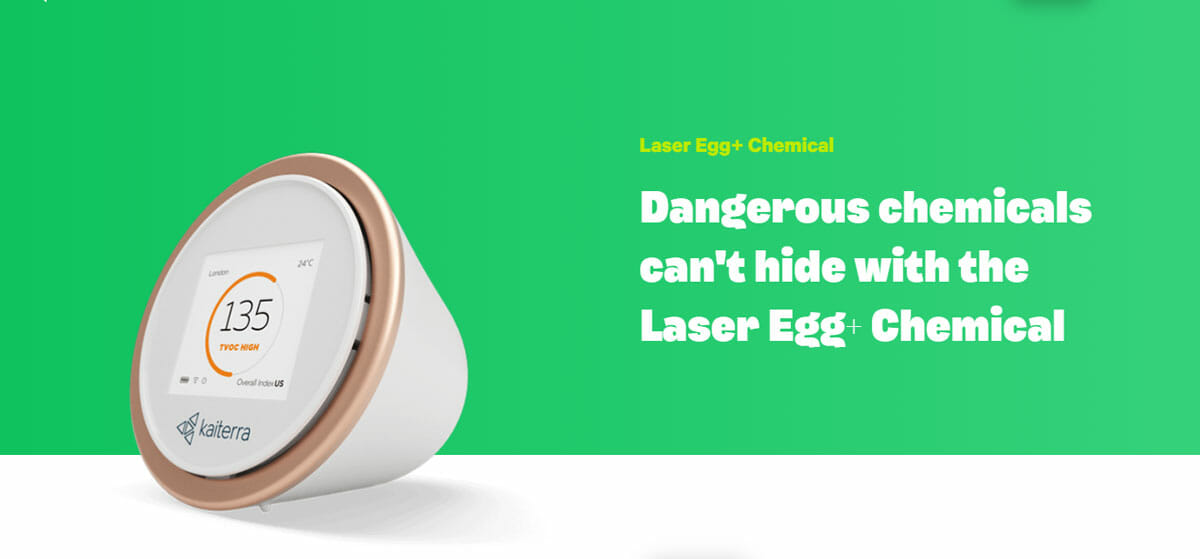 Dangerous chemicals can't hide with the Laser Egg+ Chemical