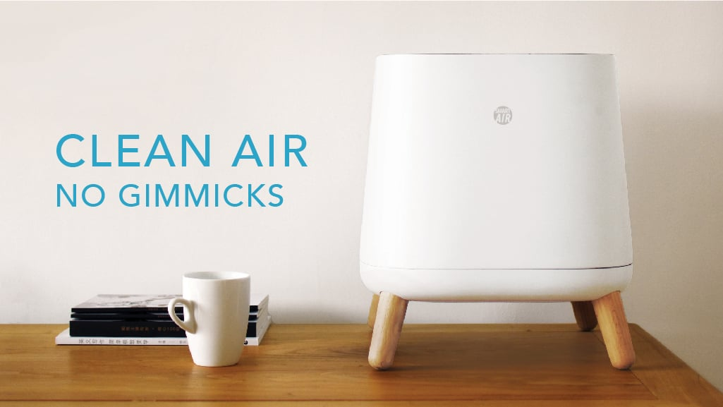 smartair sqair clean air no gammicks