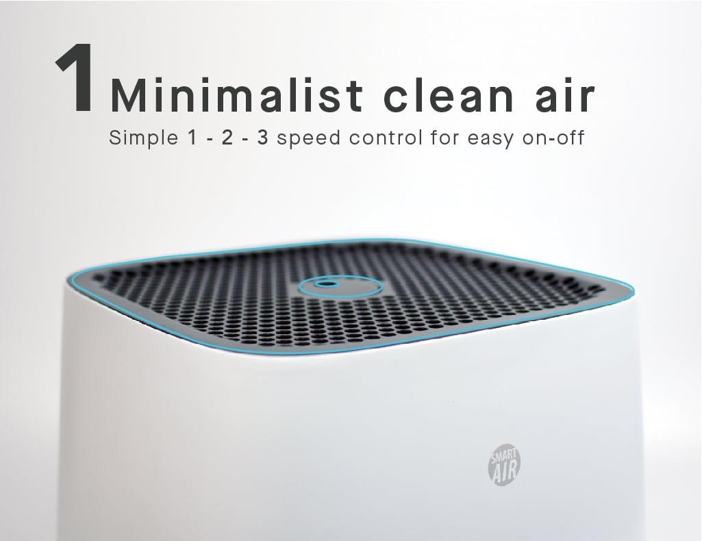 smartair sqair minimalist clean air