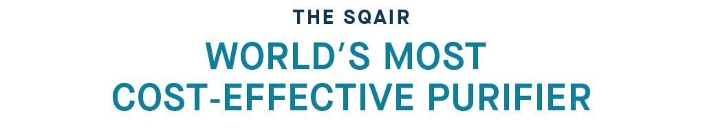smartair sqair worlds most cost effective purifier